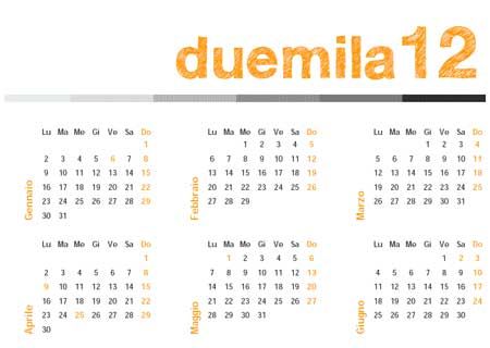 Calendario spettacolo Inchiostro Magico